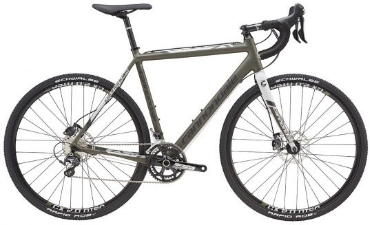Cannondale CAADX DISC ULTEGRA Komplettrad