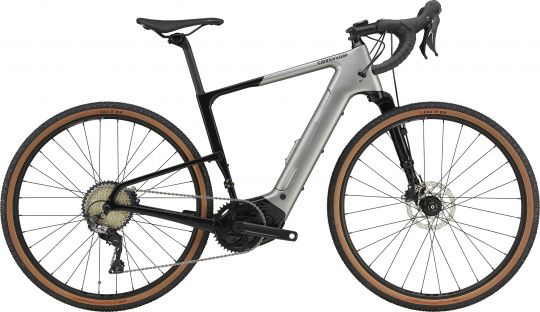 Cannondale Topstone Neo Carbon Lefty 3 - 2021   Grey