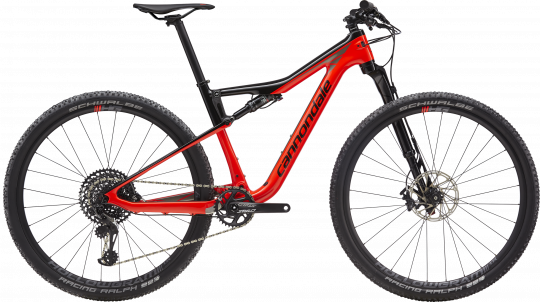 Cannondale Scalpel-Si Carbon 3 - 2019 | Acid Red
