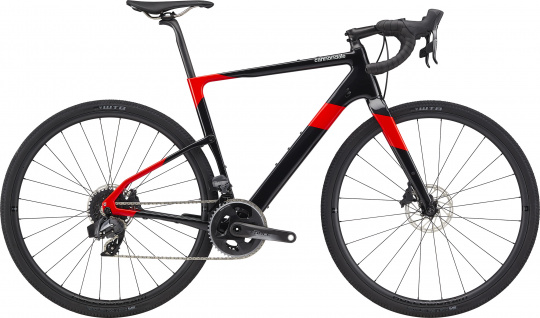 Cannondale Topstone Carbon Force eTap AXS - 2020 | Acid Red